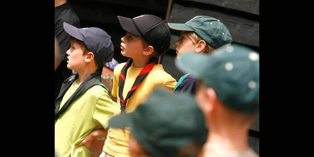 Des scouts s'invitent, à leur insu, chez le Roi à Ciergnon