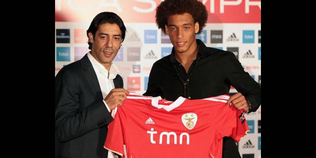 "Axel Witsel: ""Gagner le titre avec Benfica"""