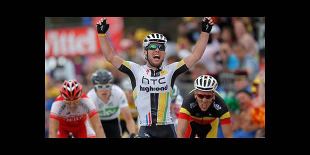 Cavendish gagne au sprint devant... Gilbert !