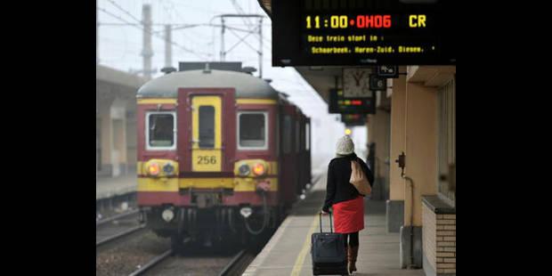 Le trafic ferroviaire perturbé à la Côte et à Bruxelles - La DH