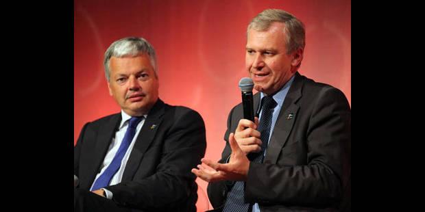 Leterme et Reynders tentent de rassurer le monde de la finance à Londres - La DH