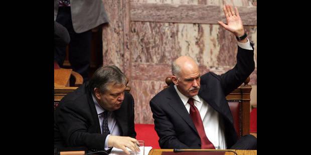 Grèce : le Parlement adopte la loi d'application du plan d'austérité - La DH