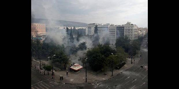 Le chaos à Athènes - La DH