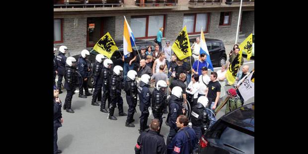 Rassemblement à Crainhem : la bourgmestre de Rhode brutalisée par le TAK - La DH