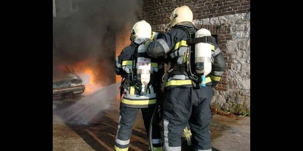 Incendie � Charleroi: cinq personnes, dont une fillette, hospitalis�es