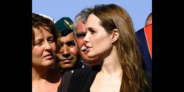 Angelina Jolie en larmes - La DH