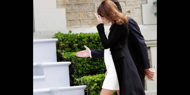 Carla Bruni-Sarkozy au sommet du G8 - La DH