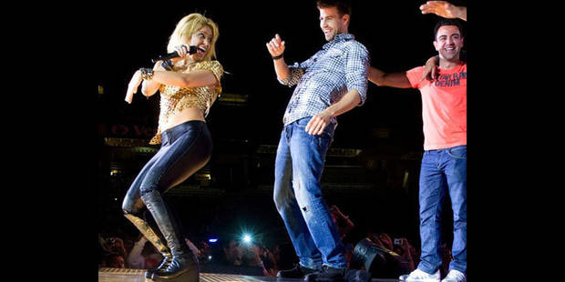 Shakira a fait danser le  Barça  ! - La DH
