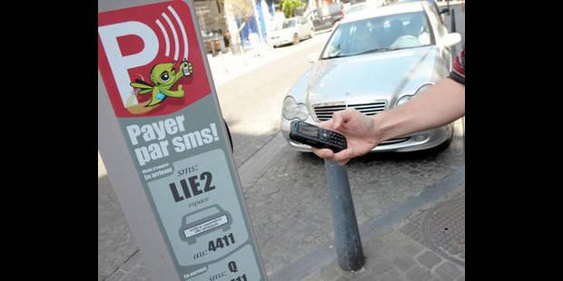 Payer votre parking par SMS - La DH