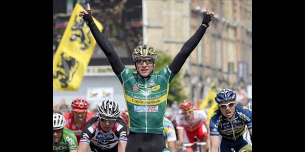 Au Tour de Belgique, Kruopis gagne, Gilbert prend le maillot - La DH