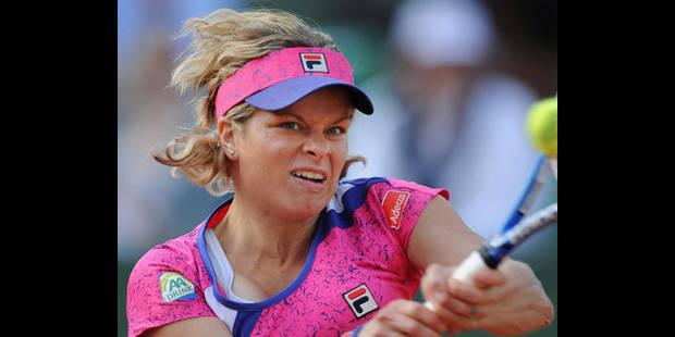 Kim Clijsters a perdu à la roulette Rus - La DH