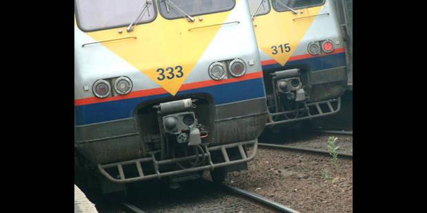 SNCB: interruption de travail entre 12 et 14h - La DH