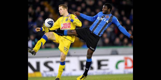 FC Bruges/Westerlo ne se jouera pas