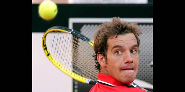 Gasquet bat Federer et va en quarts de finale