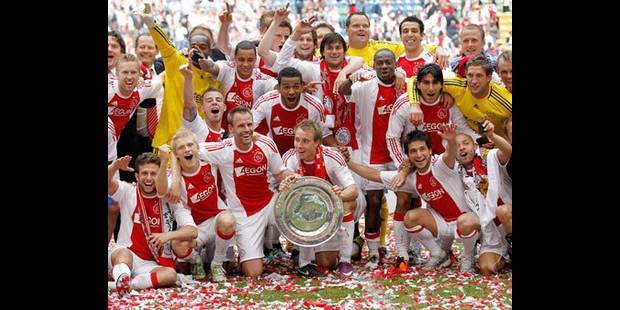 Ajax prive Twente et Michel Preud'Homme du doublé Coupe - Championnat