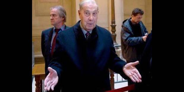 Procès de l'Angolagate: l'ancien ministre Charles Pasqua relaxé en appel - La DH