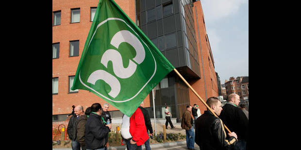Action de la CSC jeudi matin pour protester contre le refus d'accidents du travail - La DH
