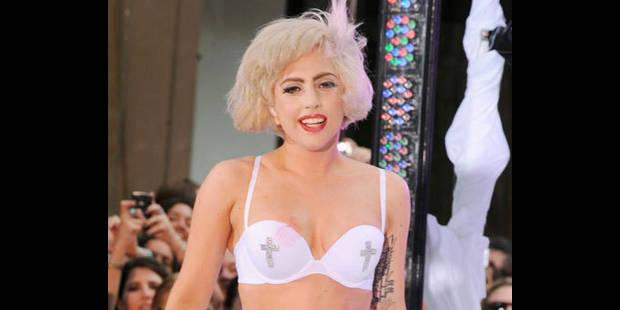 Lady Gaga est la marraine du fils d'Elton John - La DH