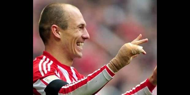 Robben tenté par l'Italie