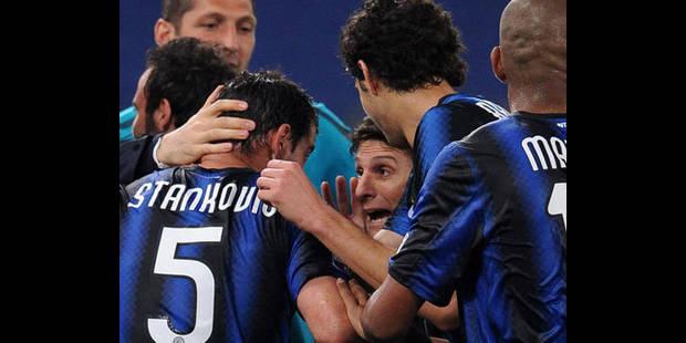 L'Inter a déjà un pied en finale grâce à Stankovic