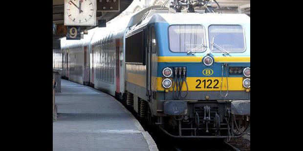 Feu de broussailles entre Floreffe et Flawinne: la circulation ferroviaire a repris - La DH