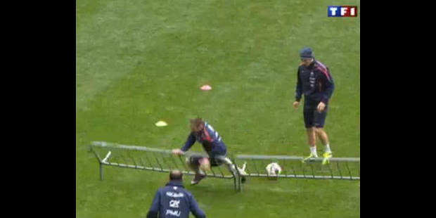 Ribéry se tape la honte au Stade de France - La DH
