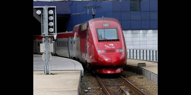 France: un Thalys pour Bruxelles immobilisé plus de 3 heures - La DH