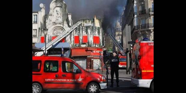L'incendie à l'Elysée Montmartre totalement maîtrisé - La DH