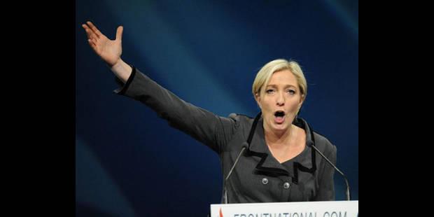Marine Le Pen prend ses distances avec les membres du FN belge - La DH
