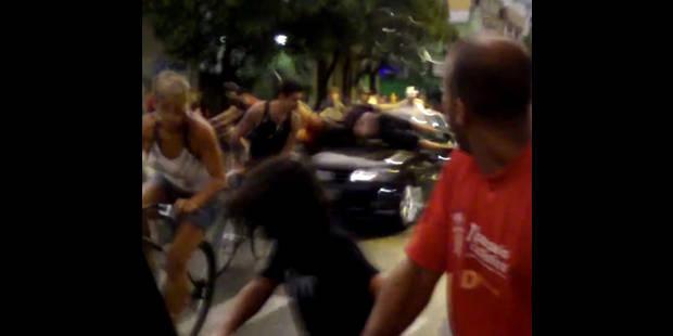 Un conducteur fou écrase des cyclistes au Brésil