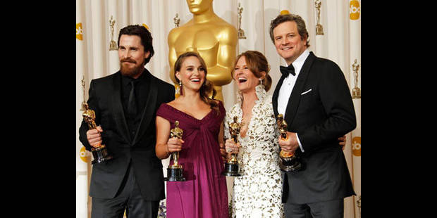 Oscars: Colin Firth et Natalie Portman couronnés - La DH