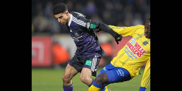 Anderlecht à l'Ajax sans Mbark Boussoufa