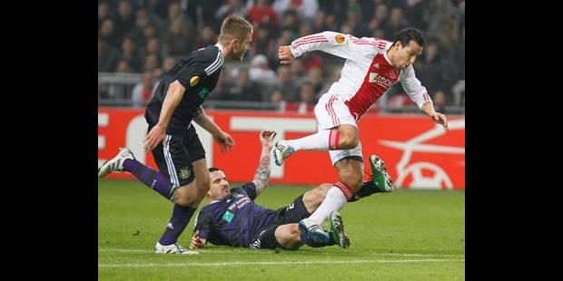 L'Ajax assure sa qualification en vingt minutes (2-0)