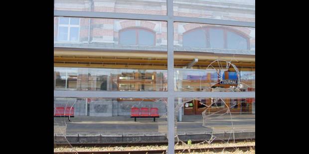 La police renforce sa présence à la gare de Tournai - La DH