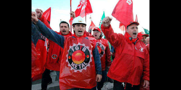AIP: 24 heures de grève des métallos de la FGTB  le 4 mars - La DH