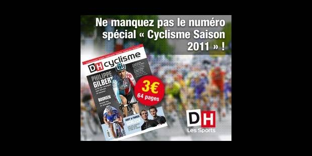 """Ne manquez pas le numéro spécial """"Cyclisme saison 2011' - La DH"""