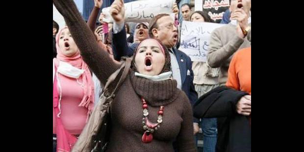 Environ 600 manifestants à Bruxelles en solidarité avec les manifestations en Egypte - La DH