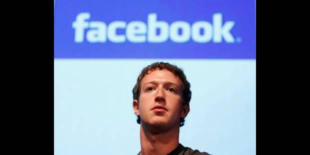 Mark Zuckerberg aussi y a eu droit - La DH