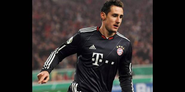 Allemagne: même remplaçant au Bayern, Klose reste le N.1 pour Löw - La DH