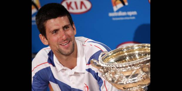 """Djokovic: """"Je vis le rêve de tout joueur de tennis"""" - La DH"""
