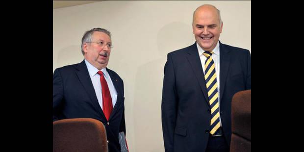 Flahaut et Pieters veulent renforcer la sécurité au parlement fédéral - La DH