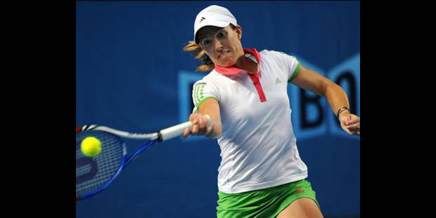 Open d'Australie : Justine s'impose facilement et passe au troisième tour