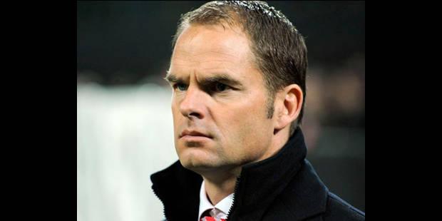 Frank De Boer entraîneur de l'Ajax Amsterdam jusqu'en 2014 - La DH