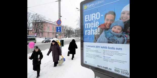 L'Estonie adoptera l'euro à minuit - La DH