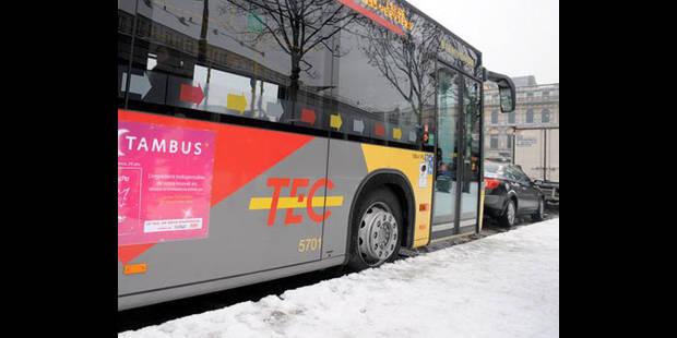 Intempéries: retour progressif à la normale pour les bus du TEC - La DH