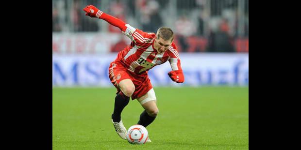 Bayern Munich: Hoeness a mis le paquet pour Schweinsteiger