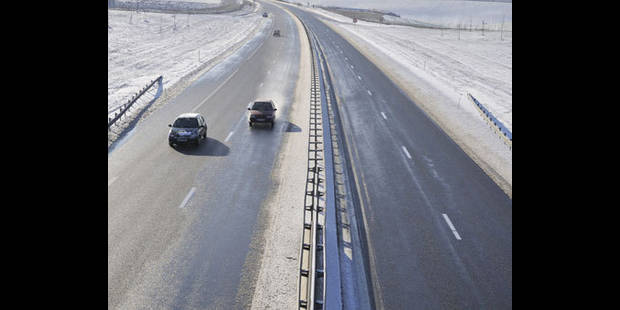Neige: pas de problèmes sur les routes wallonnes et le rail - La DH