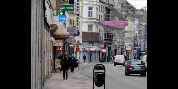 Chaussée d'Ixelles: travaux en août2011 - La DH