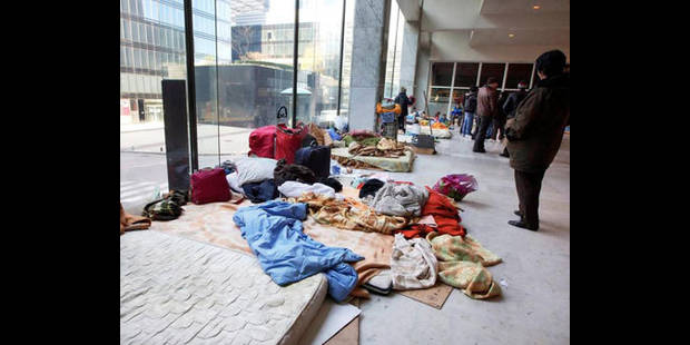 Gare du Nord : les demandeurs d'asile ne seront pas déplacés lundi - La DH