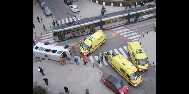Accident tram: ?Quand j'ai vu la scène, j'ai cru le pire? - La DH